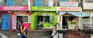 Kenya - Markt abgebaut